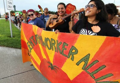 Elisa Oceguera and the Student Farmworker Alliance